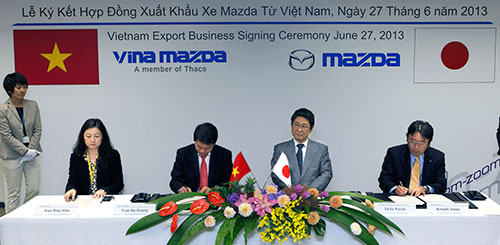 First Vietnam automaker exports cars