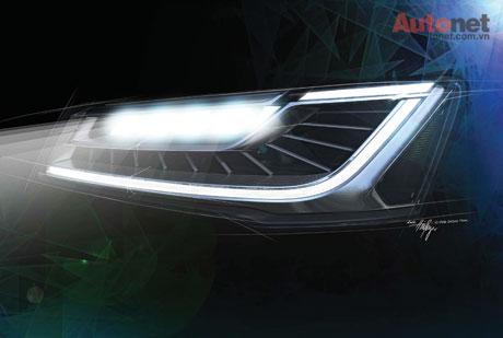 Công nghệ chiếu sáng ma trận của Audi