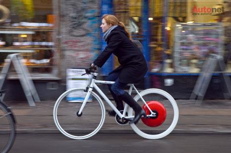 Copenhagen Wheel: Bánh xe đạp thông minh