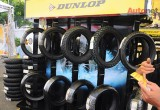 [VMF 2014] Dunlop's booths of car tires