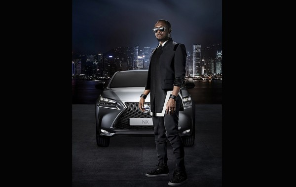 Will.i.am và Lexus NX
