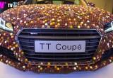 Audi TT Coupe 'mạ' 27.000 chiếc sô cô la