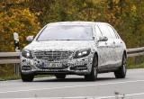 Ảnh chụp trộm Mercedes S600 Pullman Limousine