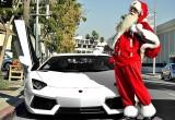 """Dàn siêu xe """"gầm' bản Jingle Bell chuẩn bị giáng sinh"""