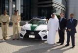 Cảnh sát Dubai kết nạp thêm Lexus RC F