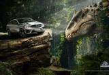 Mercedes GLE Coupe, Unimog xuất hiện trong Jurassic World