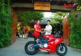 Johnny Trí Nguyễn tậu thêm Ducati 899 Panigale