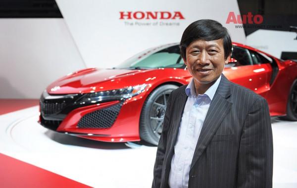 Phó Tổng giám đốc thứ nhất của Honda Vietnam Hồ Mạnh Tuấn cũng có mặt tại sự kiện