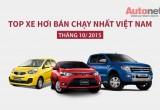 Những mẫu xe bán chạy nhất trong tháng 10 tại Việt Nam