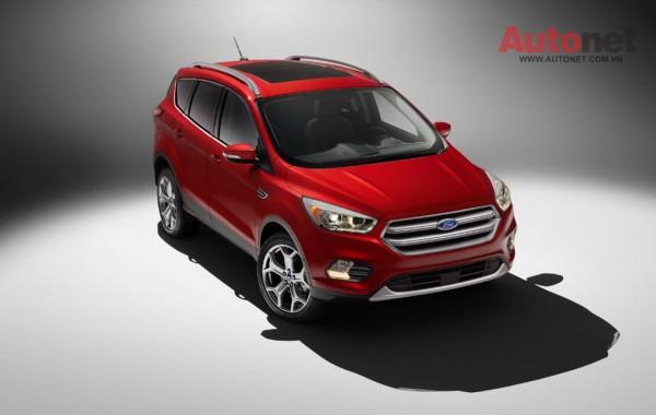 Ford Escape 2017 chính thức lộ diện