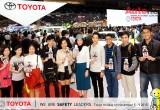Toyota công bố kết quả chụp ảnh Selfie thắt dây an toàn