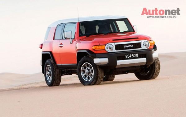 Khả năng giữ giá của mẫu SUV Toyota vượt trội hoàn toàn so với đối thủ