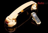 Chiêm ngưỡng chiếc điện thoại mạ vàng 24K nhỏ nhất thế giới