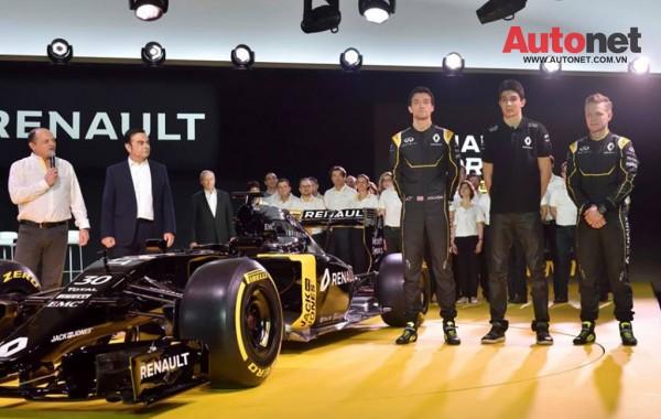 Renault cũng công bố 3 tay đua mới sẽ tham gia đội đua F1 Renault trong năm 2016