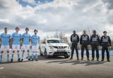 Manchester City trải nghiệm tay lái với Nissan Juke
