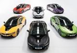 BMW i8 thêm gói tùy chọn màu sơn