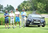 Lexus to accompany Forbes Vietnam Golf Tournament 2016