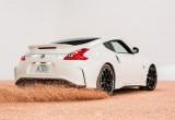 Nissan trang trí bánh Donut bằng cách Drift xe 370z