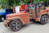 Thú vị Jeep Wrangler ghép từ lon thực phẩm