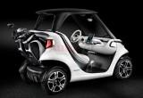 Ngắm nhìn xe đánh golf mini siêu sang gắn mác Mercedes