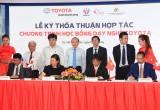 Toyota Việt Nam tổ chức chương trình Học bổng dạy nghề cho sinh viên