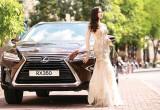 Lexus RX 2016 lịch lãm và sang trọng bên thiếu nữ Hà Thành