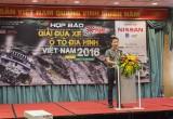 Giải đua ô tô địa hình Việt Nam chính thức khai mạc