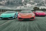 Chạy đua với thời gian cùng Lamborghini Huracán