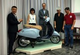 Vespa Eggshell – The combination of art between the East and the West