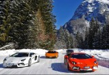 [VIMS 2016] Driving on ice with Lamborghini