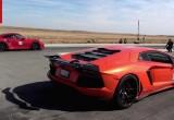 Lamborghini Aventador và Porsche 991 Turbo S so tài