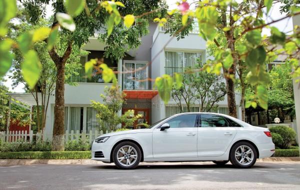 Audi cho biết A4 2016 đã nhẹ hơn và lớn hơn so với người tiền nhiệm