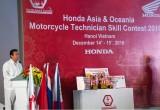 Honda Việt Nam lần đầu tổ chức hội thi kỹ thuật viên giỏi