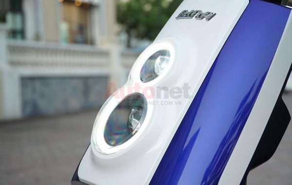 Cụm đèn ban ngày sử dụng công nghệ LED hình số 8
