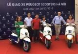 Peugeot bàn giao Django 125 đầu tiên tới khách hàng HN