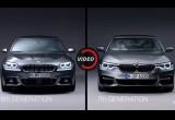 Video so sánh BMW 5-Series thế hệ cũ và mới