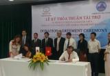 Toyota VN trao tặng 2 xe Buýt Coaster cho TP Đà Nẵng