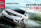 Nissan tung khuyến mãi lớn cho X-Trail