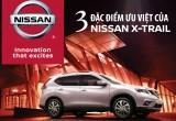 [Inforghraphic] Ba điểm ưu việt của Nissan X-Trail