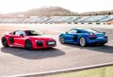 Audi R8 V10 Plus 2018 sẽ có đèn pha Laser tiêu chuẩn