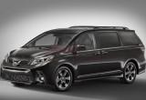 Toyota Sienna 2018: Thiết kế mới, trang bị mới