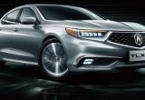 Acura TLX-L lộ diện trước ngày ra mắt