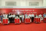 8 bệnh viện tỉnh Lai Châu được Quỹ Toyota VN trao tặng xe đẩy cấp cứu