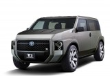 Toyota TJ Cruiser: Kết hợp van và SUV