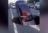 Rolls-Royce Ghost suýt bị hố tử thần nuốt trọn