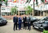 Khách sạn Meliá Hanoi sử dụng xe Mercedes cho dịch vụ đưa đón