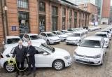 Volkswagen bàn giao 50 xe điện e-Golf cho chính phủ Đức