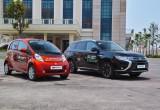 Mitsubishi bàn giao xe chạy điện cho Sở Công Thương TP.Đà Nẵng