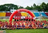 Trại hè bóng đá thiếu niên Toyota 2018 khai mạc