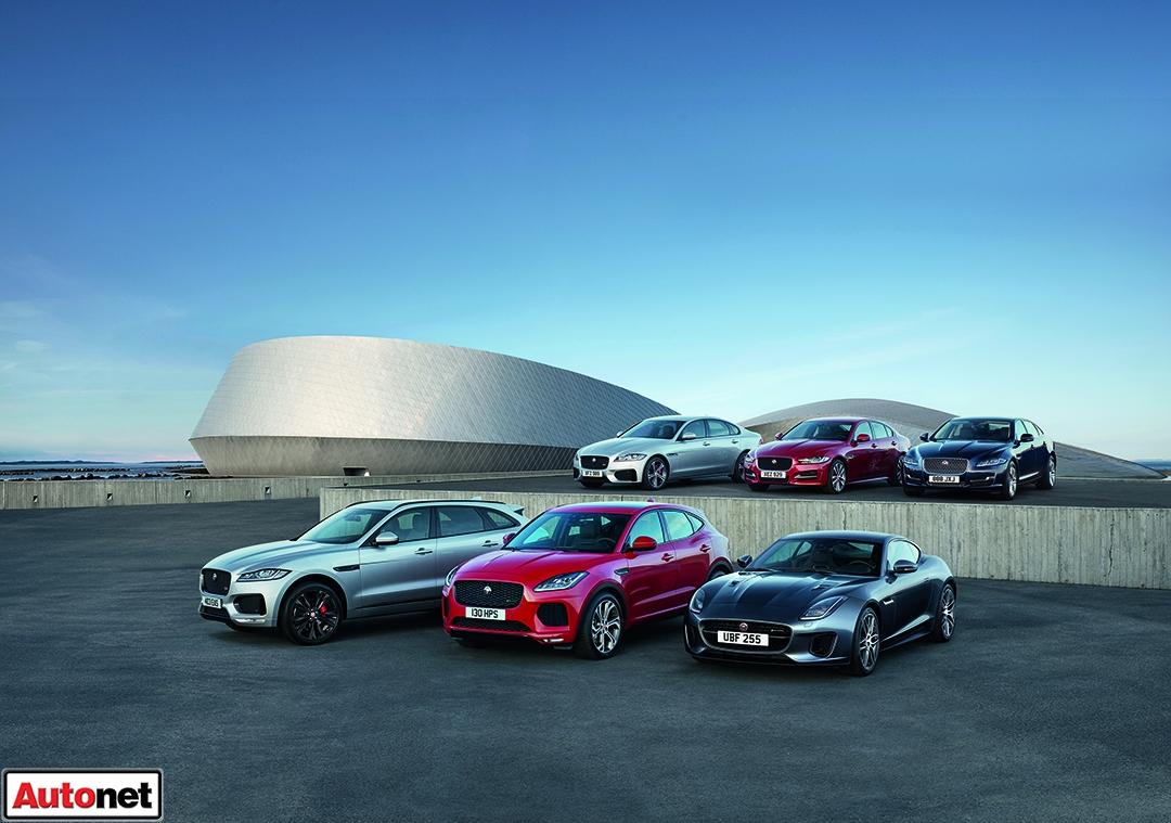 Jaguar range